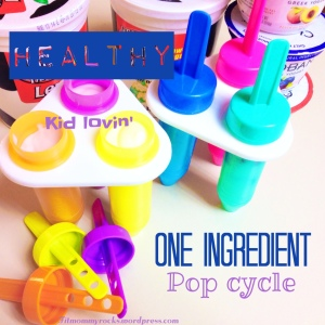 Healthy One Ingredient Pop Cycle