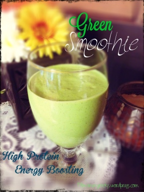 Green Smoothie-- High Protein & Energy Boosting