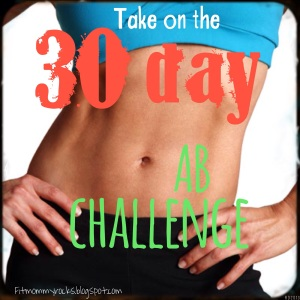 Take on the 30 Day Ab Challenge