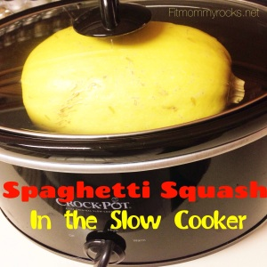 Spaghetti Squash In the clow Cooker