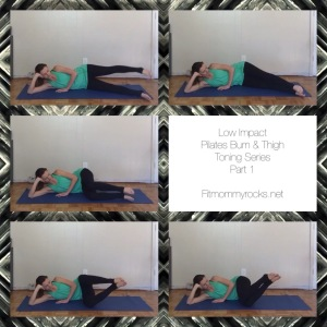 Low Impact Pilates Bum & Thigh Toning Series
