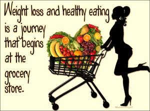 weight loss begins in the grocery store