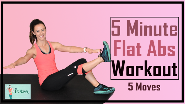 5 MINUTE FLAT ABS THUMBNAIL