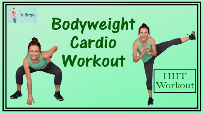 Bodyweight HIIT Cardio Workout Thumbnail