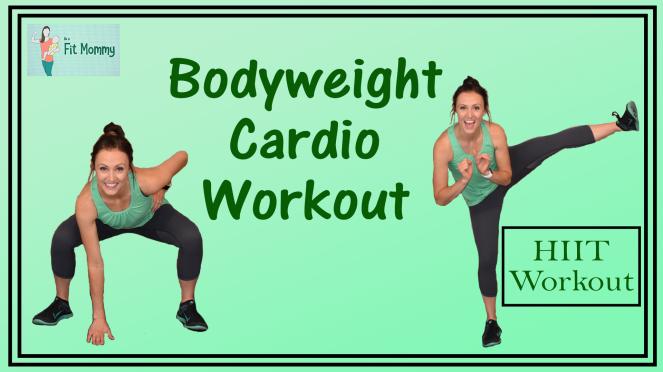 Bodyweight HIIT Cardio Workout Thumbnail