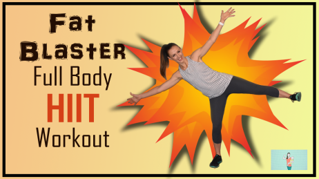 Fat Blaster Full Body HIIT Workout Thumbnail